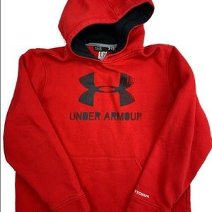 Under armour youth large size 14/16 sweater hoodie